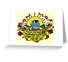 May The Four Winds Blow You Safely Home - Fare Thee Well Greeting Card