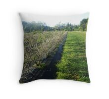 Serene Dream - Delicious Orchards NJ Throw Pillow