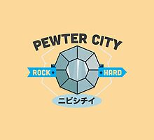 Kanto Gym Logos - Pewter City (2015) by Cassandra  Downs
