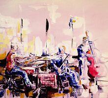 Street musicians by ZlatkoMusicArt