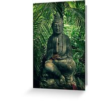 Bali Buddha Greeting Card