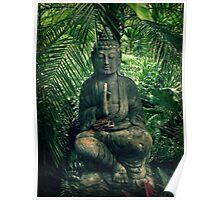 Bali Buddha Poster