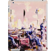 Street musicians iPad Case/Skin