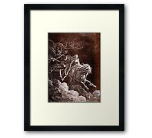 Death on the Pale Horse, Gustave Doré, (1865), Revelations, Seven Seals Framed Print