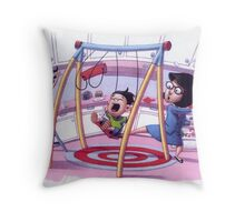 Swinging in the Kitchen Throw Pillow