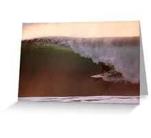 Clean Off the Wall Barrel Greeting Card