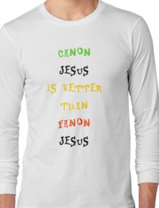 Canon Vs. Fanon Long Sleeve T-Shirt