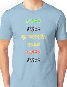 Canon Vs. Fanon Unisex T-Shirt