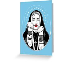 Immaculate Misconception Greeting Card
