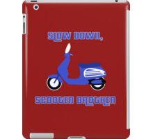 Scooter Brother iPad Case/Skin