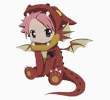 Natsu Dragneel (chibi) One Piece - Short Sleeve