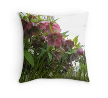 The Winery of Flowers Throw Pillow