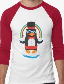 penguin Magic Men's Baseball ¾ T-Shirt