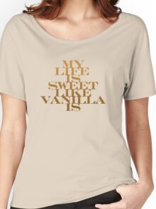 Vanilla Women's Relaxed Fit T-Shirt