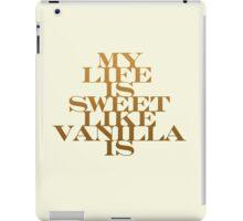 Vanilla iPad Case/Skin