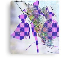 ENTRAPED IN COMMERCIALISTIC ENTANGLEMENTS Canvas Print