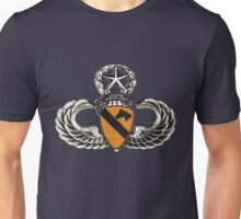 First Cavalry patch on Jumpwings Unisex T-Shirt
