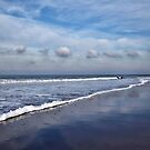 Beach Reflections by AnnieSnel