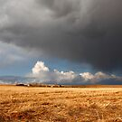 Stormy prairies II by zumi