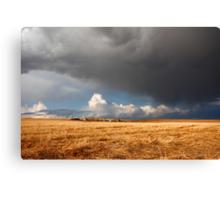 Stormy prairies II Canvas Print