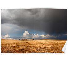 Stormy prairies II Poster