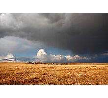 Stormy prairies II Photographic Print