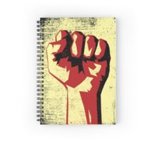 Revolution!!! Raised Fist!  Spiral Notebook