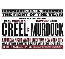 Creel vs Murdock Photographic Print