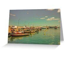 Punta del Este Port View Greeting Card