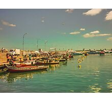 Punta del Este Port View Photographic Print