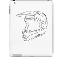 Mx Helmet Black iPad Case/Skin