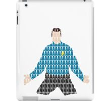 Khan typography iPad Case/Skin