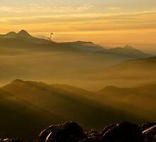 Sunrise on Tajumulco II by Valerie Rosen