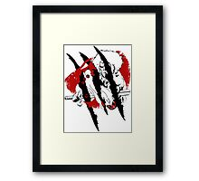 Thundercat Fury Framed Print