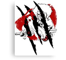 Thundercat Fury Canvas Print