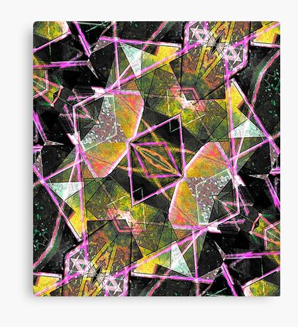 Geometric Texture Canvas Print