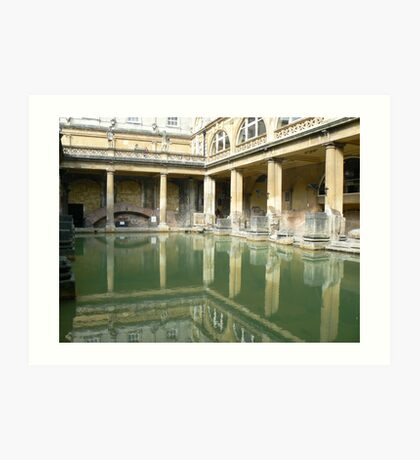 Roman Baths, Bath England Art Print