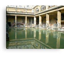 Roman Baths, Bath England Canvas Print