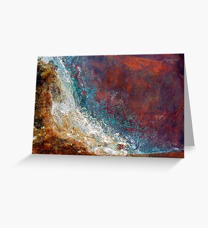 Tidal Rage Greeting Card