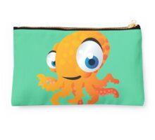 Yellow smiling octopus Studio Pouch