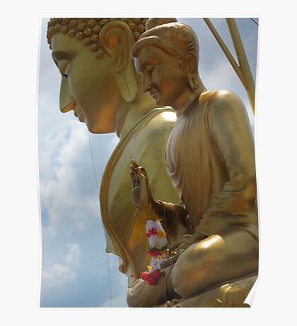 1000 steps to Buddha Poster