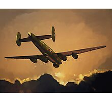 The Old Grey Lady: Avro Shackleton, 8 Squadron, 1990 Photographic Print