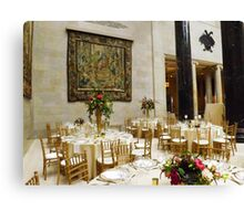 Fine Dining Area of Nelson Atkins Museum Canvas Print
