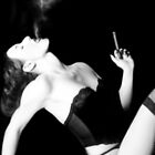 Smoke &amp; Seduction - Self Portrait by Jaeda DeWalt