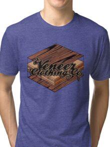 VENEER CROSS-SECTION Tri-blend T-Shirt