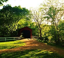 Covered Bridge by BearHallDesigns