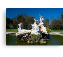Fountain of Love Canvas Print