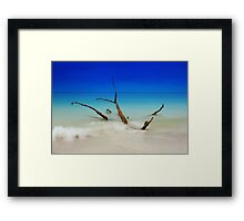I am still standing Framed Print
