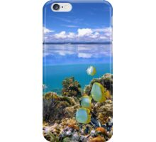 Sky and underwater sea iPhone Case/Skin
