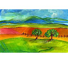 The countryside Photographic Print